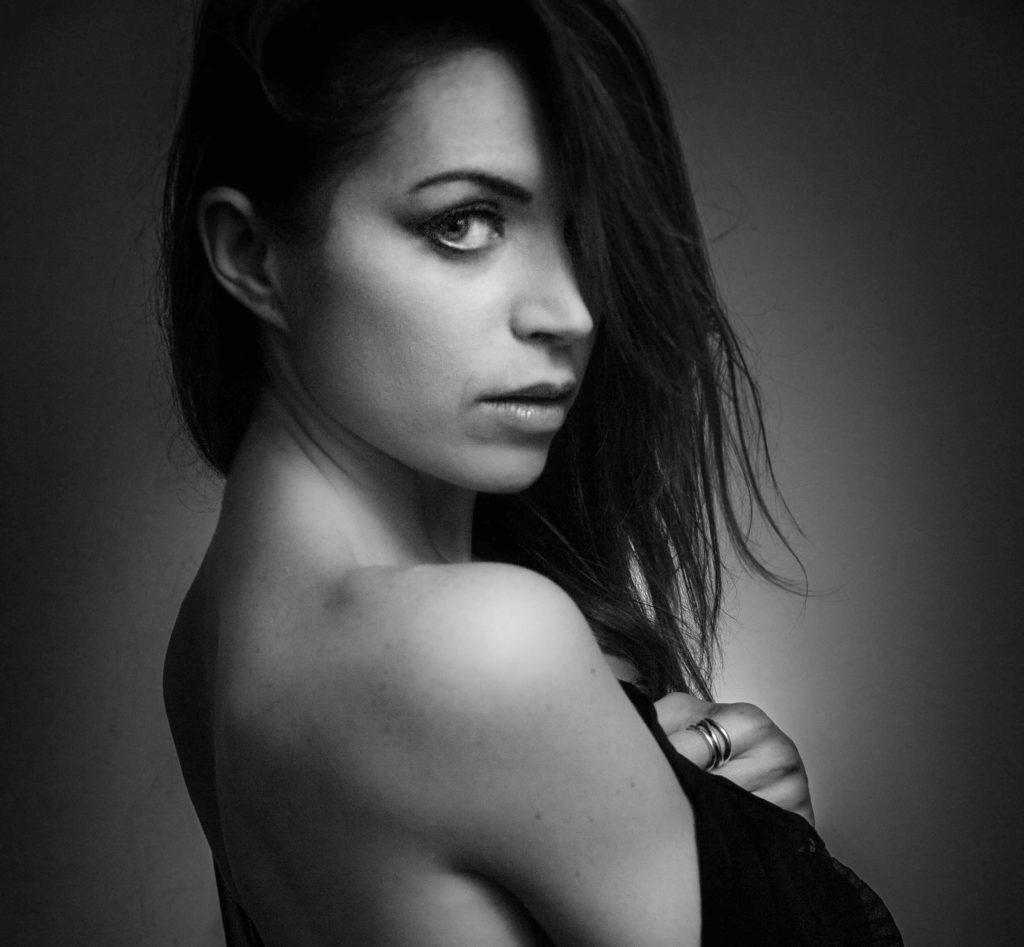 ritratti sensuali di donna