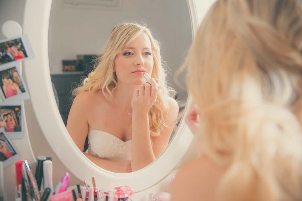 servizio fotografico preparazione sposa