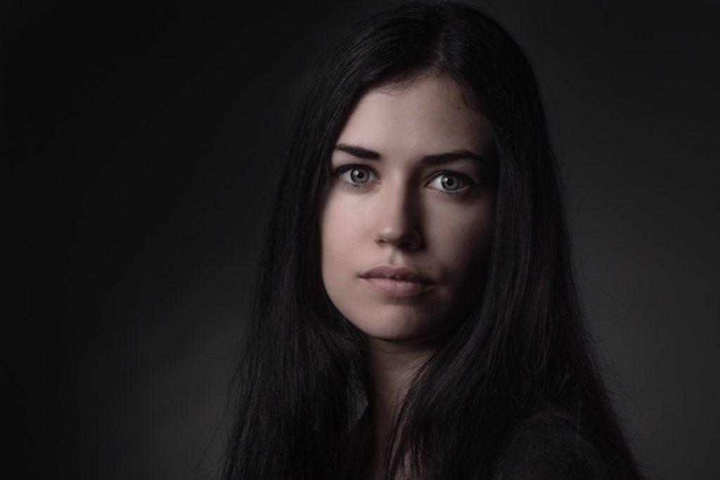 ritratto fotografico per attrice