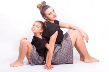 servizio fotografico con i figli