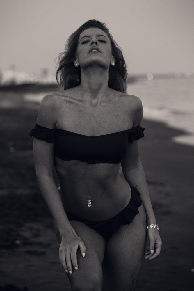 servizio fotografico sulla spiaggia