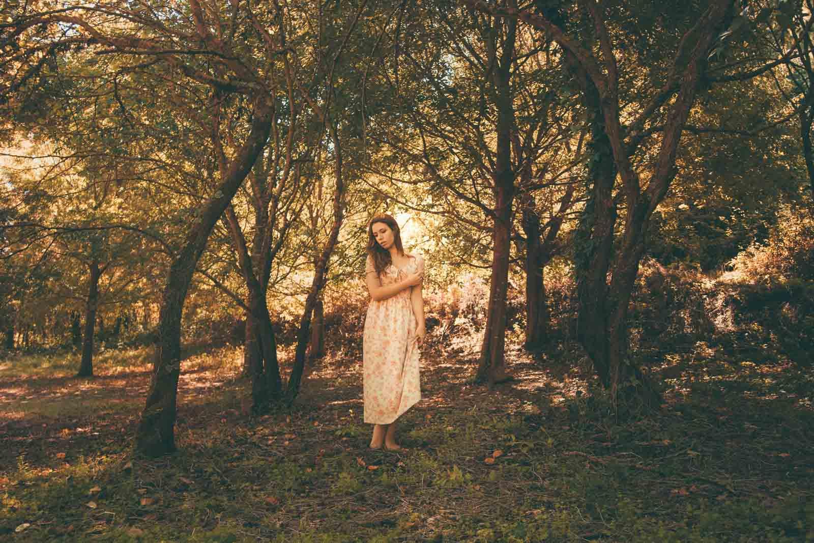 servizio fotografico romantico