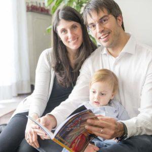 sessione fotografica di famiglia