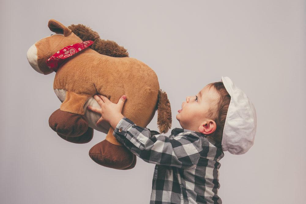 servizio fotografico per bambino