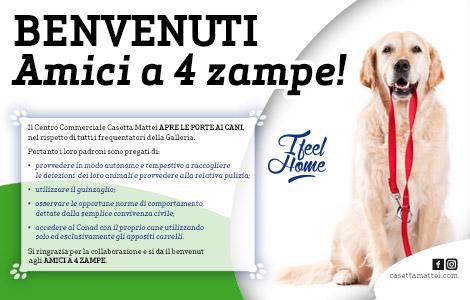 supermercati che accettano cani