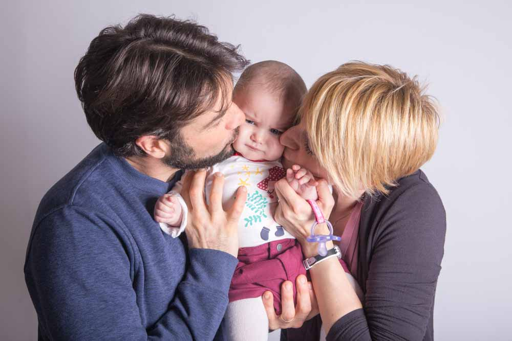 ritratti e fotografie famiglia