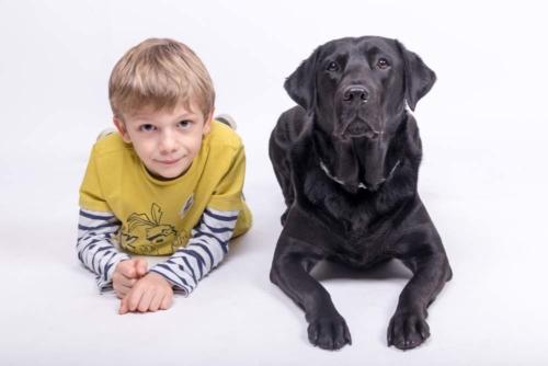 servizio fotografico col cane roma