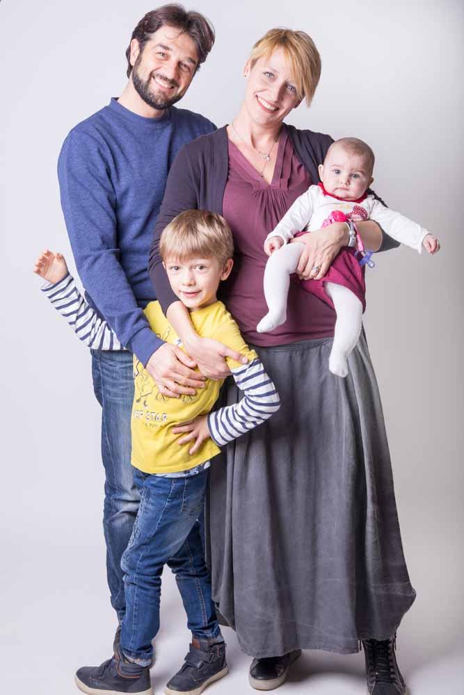 come vestirsi per le foto di famiglia
