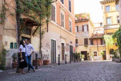 celebrating anniversary in rome