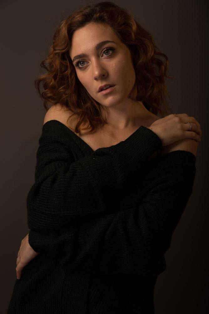 ritratto fotografico professionale per attori e attrici