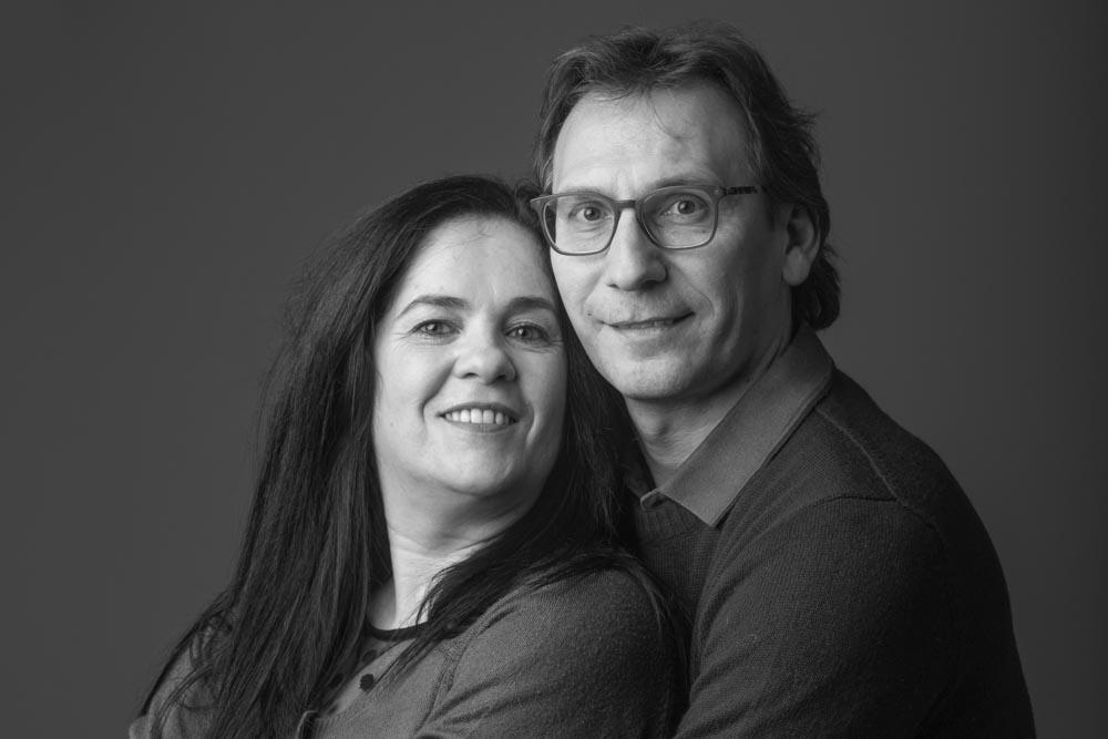 foto di coppia in studio