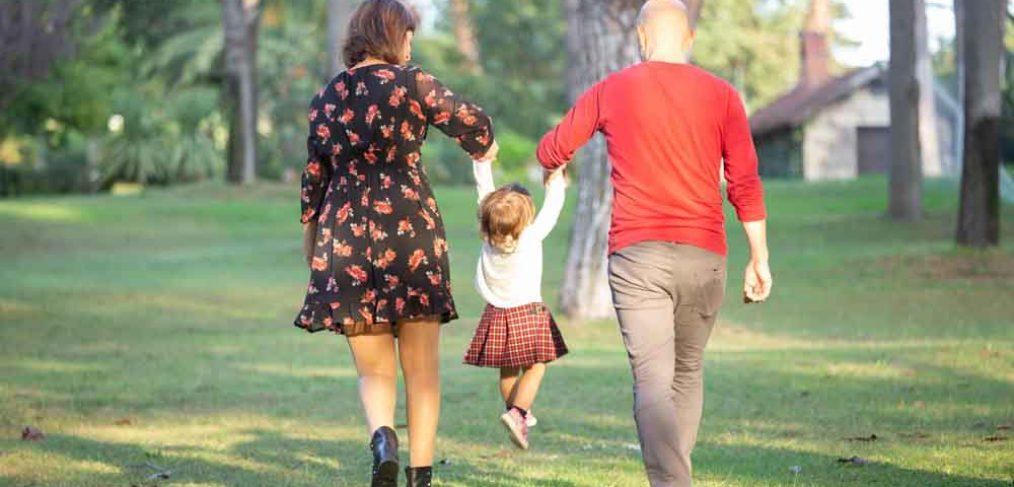 servizio fotografico di famiglia al parco