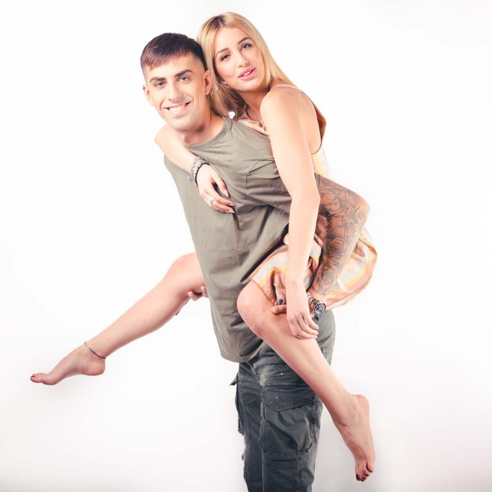 foto fidanzamento in studio