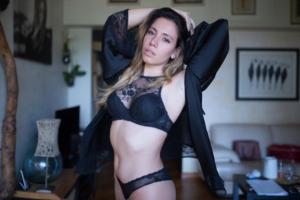 servizio fotografico sensuale elegante