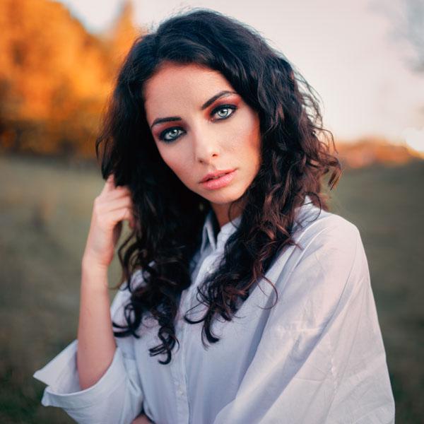servizio fotografico per attrice