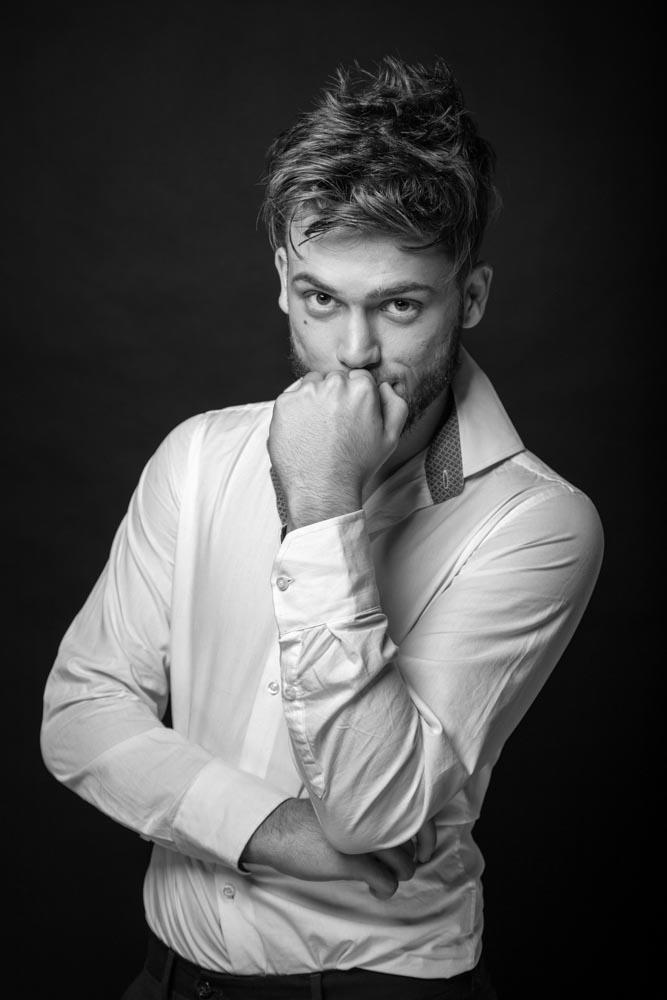 servizio fotografico per attore
