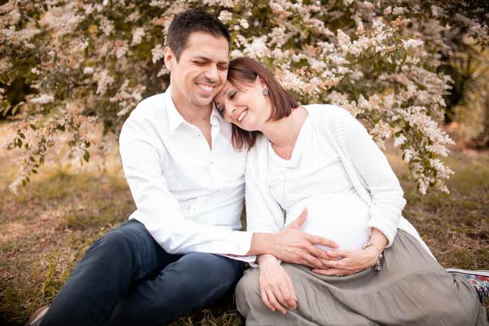 servizio fotografico di maternità