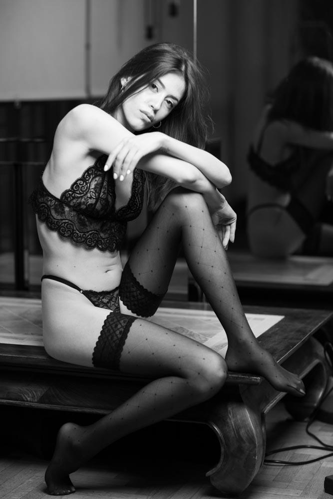 servizi fotografici sensuali in intimo