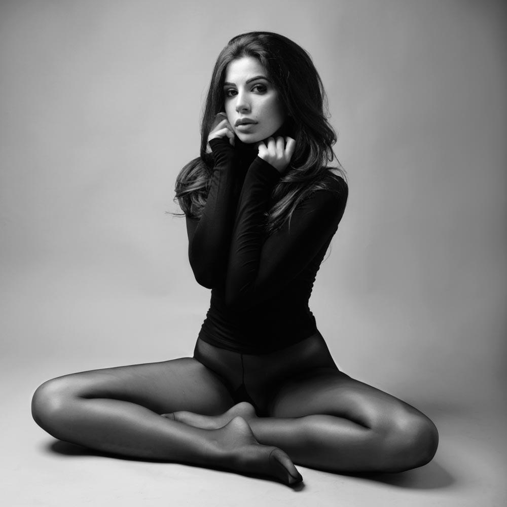 servizio fotografico di ritratto donna